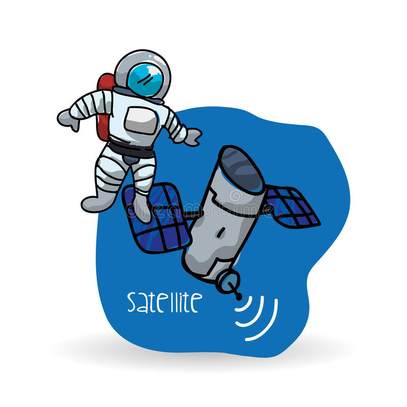 Download 空间设计 科学象 例证,传染媒介 向量例证. 插画 包括有 系统, 飞行, 进展, 货物, 调查, 回报 - 72374455