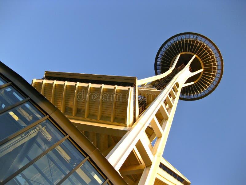 空间针在西雅图 免版税库存图片