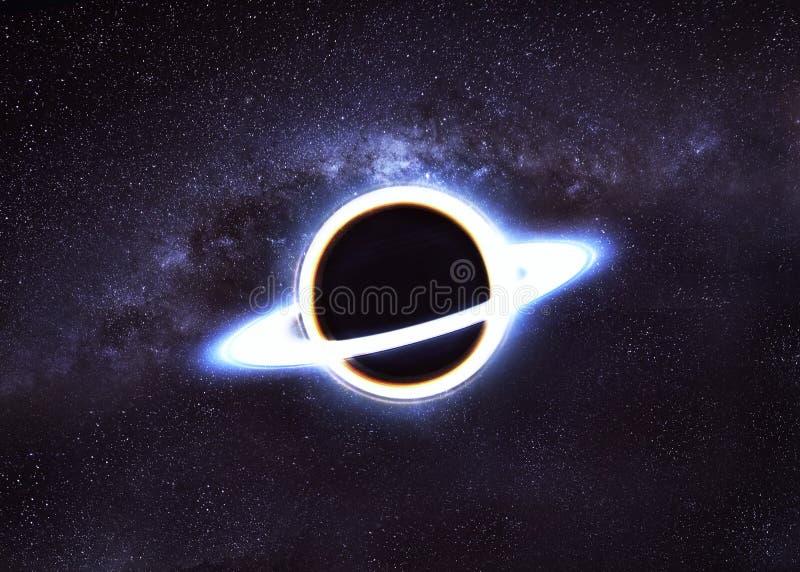 黑洞空间 免版税库存图片