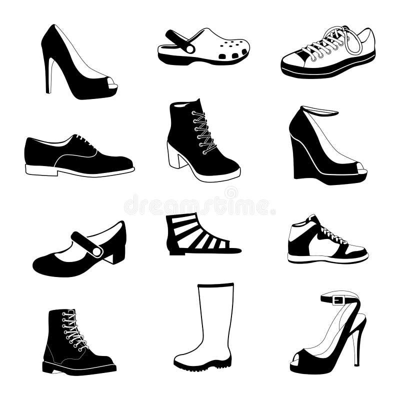 穿上鞋子#1 库存照片