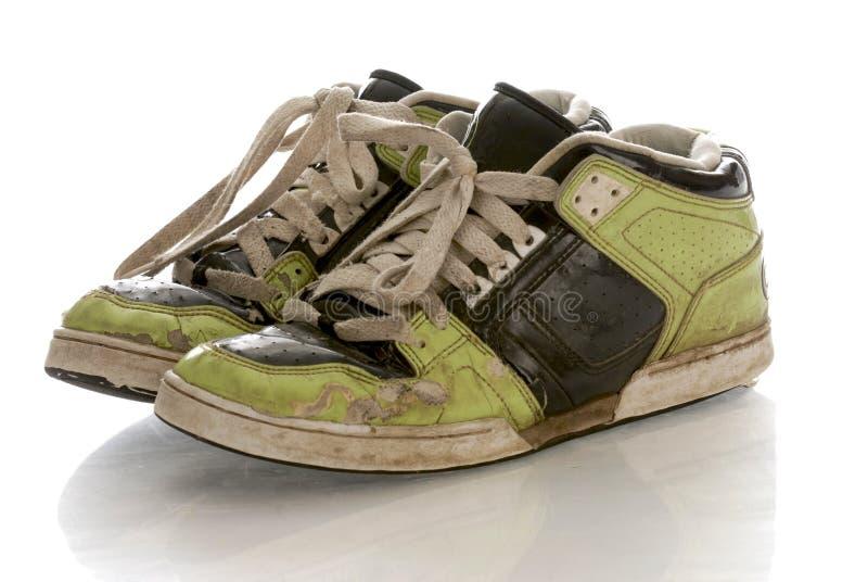穿的跑鞋 库存照片