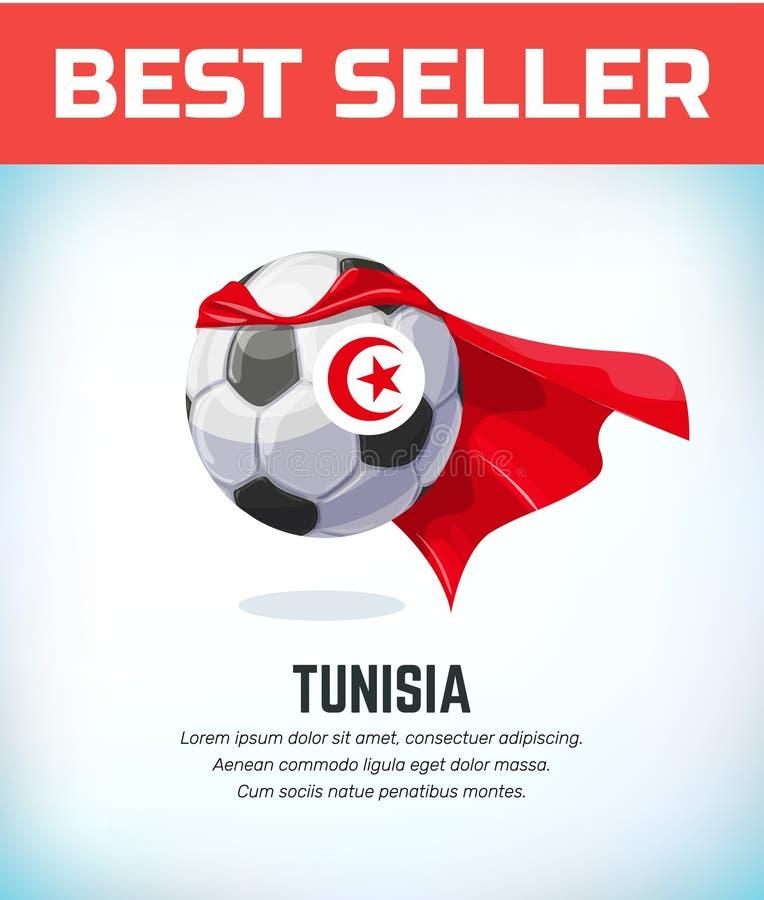 突尼斯橄榄球或足球 橄榄球国家队 r 皇族释放例证