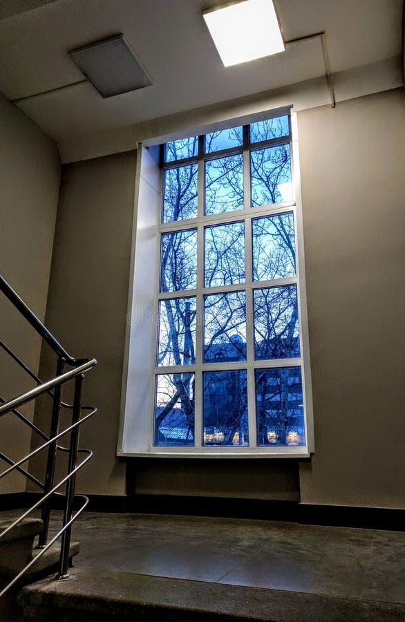 窗口光 免版税图库摄影