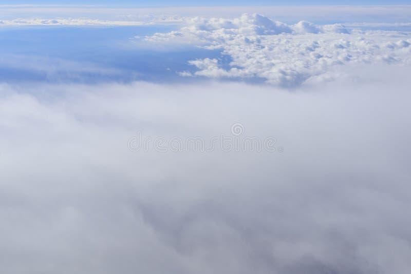 从窗口飞机的风景美国 库存照片