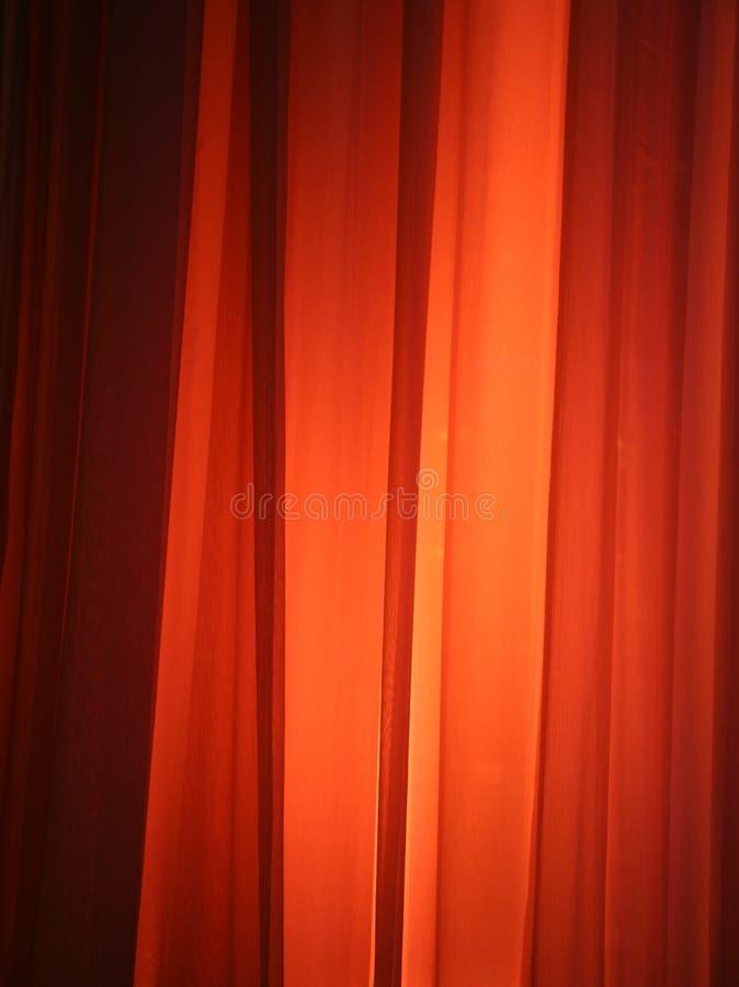 窗帘亮点 免版税图库摄影