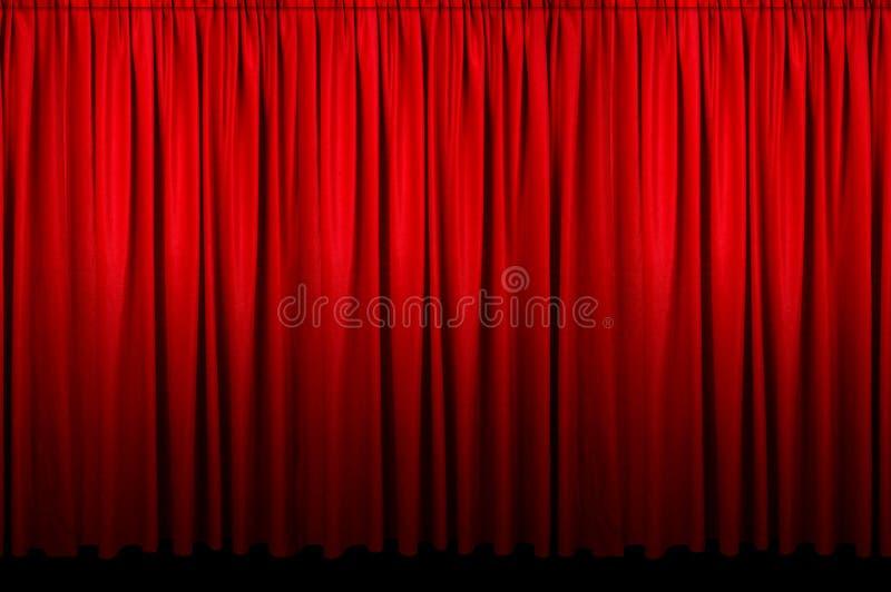 窗帘活动 库存照片