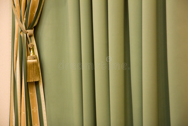 窗帘 免版税库存图片
