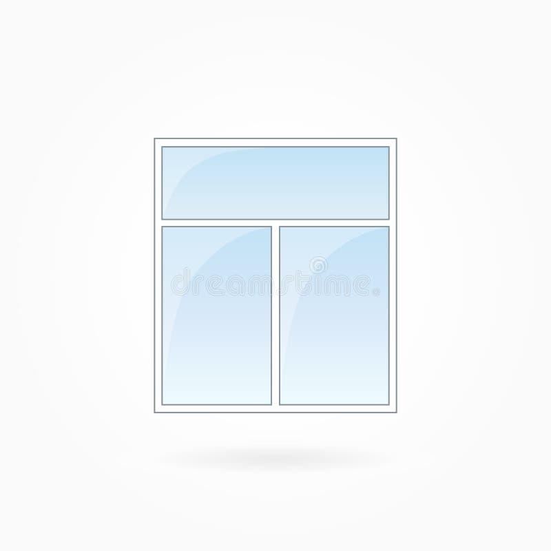 窗架传染媒介例证, Eps 10 库存例证