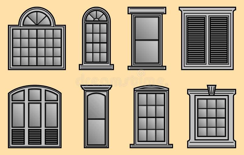 窗架 库存例证