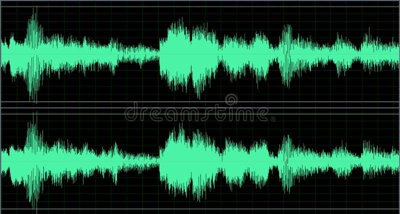 立体声通知 向量例证