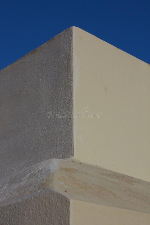 立体派墙壁 免版税库存照片