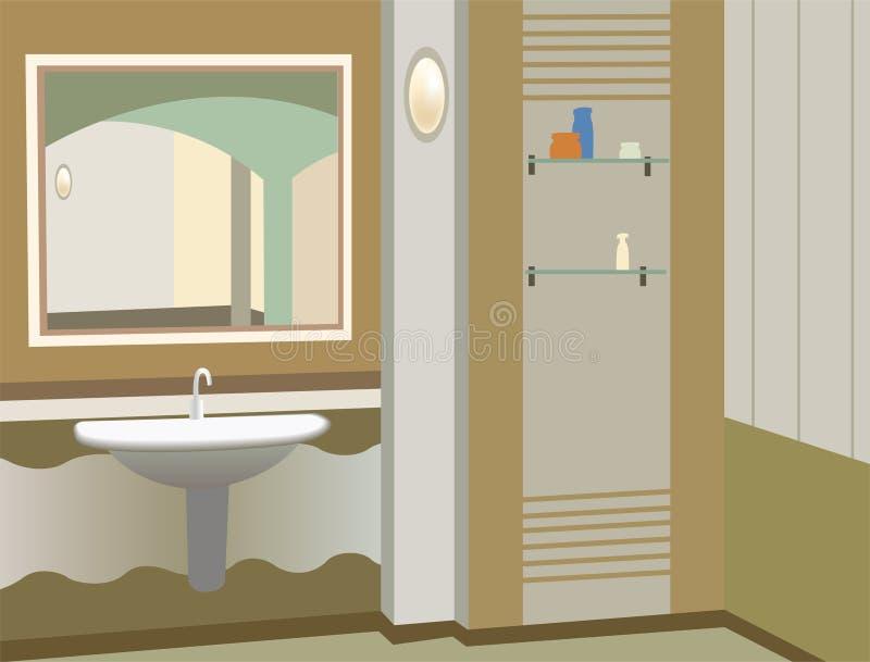 立场向量洗涤 向量例证