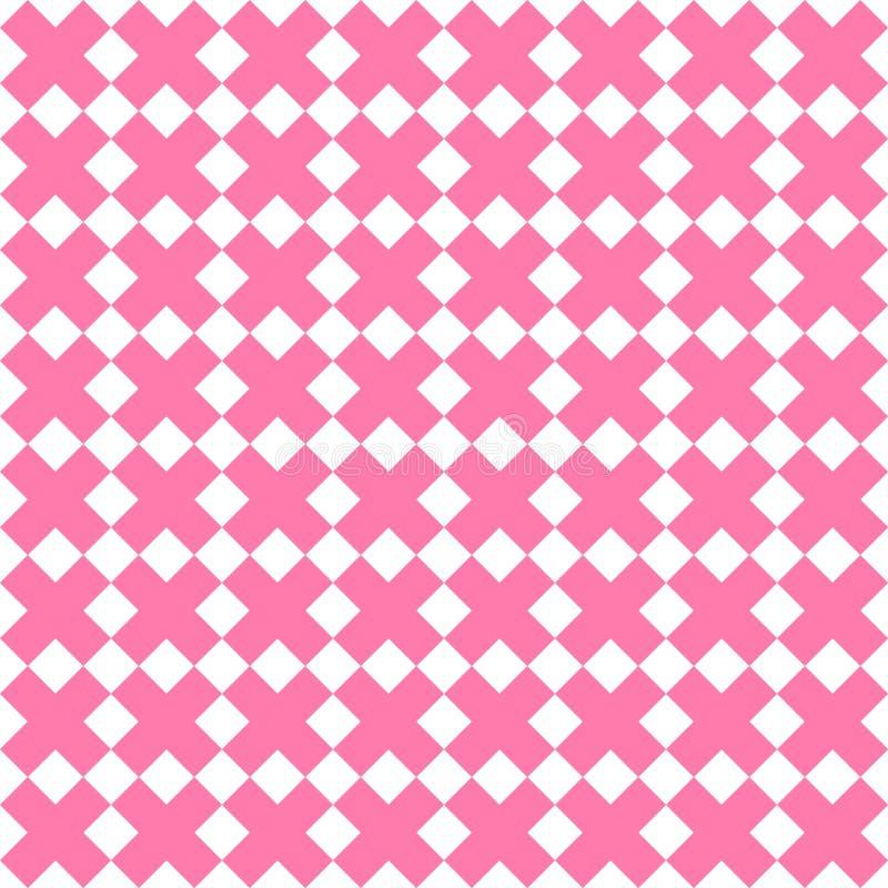 立方体样式几何例证,无缝的图表纹理 ?? 皇族释放例证