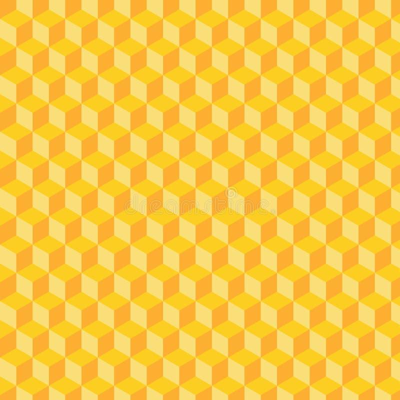 立方体样式 库存照片