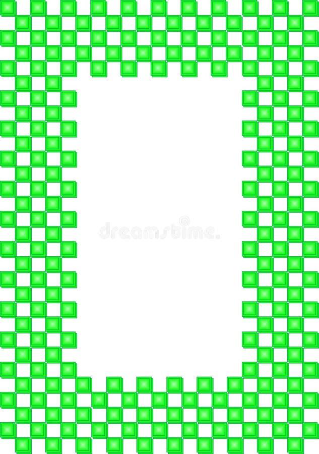 立方体框架 皇族释放例证
