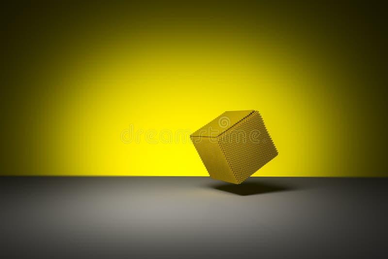 立方体玉米 库存图片