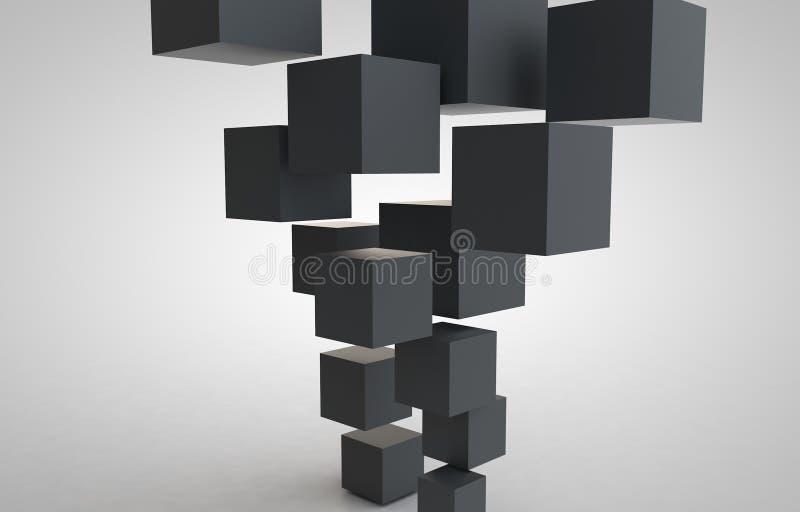 立方体立方体 免版税图库摄影