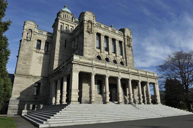 立法大厦,维多利亚,不列颠哥伦比亚省,加拿大 库存照片