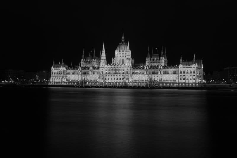 建立Orszà ¡ ghà ¡ z的匈牙利议会 免版税库存图片