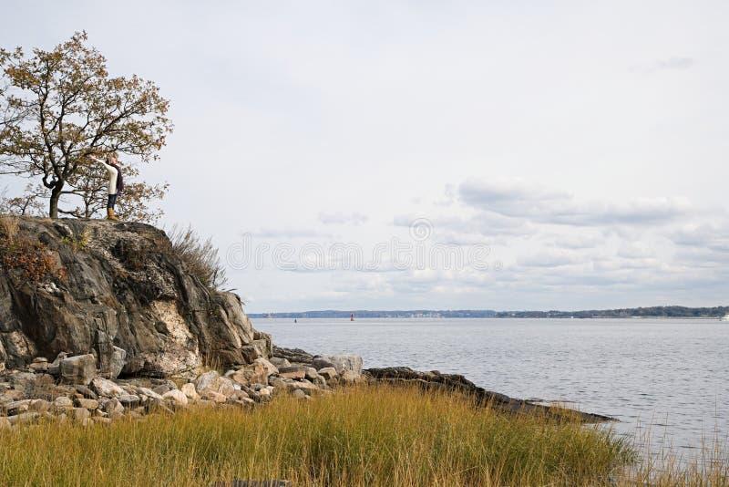 Download 站立在岩石的妇女在湖附近 库存照片. 图片 包括有 欢欣, 腋窝, 水平, 成熟, 纵向, 快乐, 沼泽 - 62534384