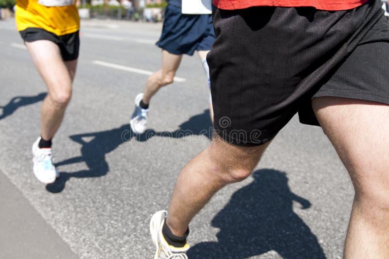 竞争马拉松连续体育运动 库存照片