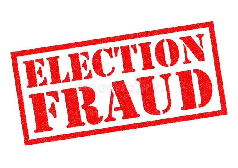 竞选欺骗 向量例证