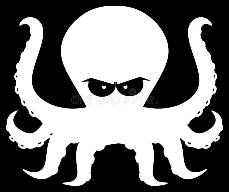 剪影动画片尾巴人字符恼怒的章鱼抖音吉祥恐龙怎么做图片