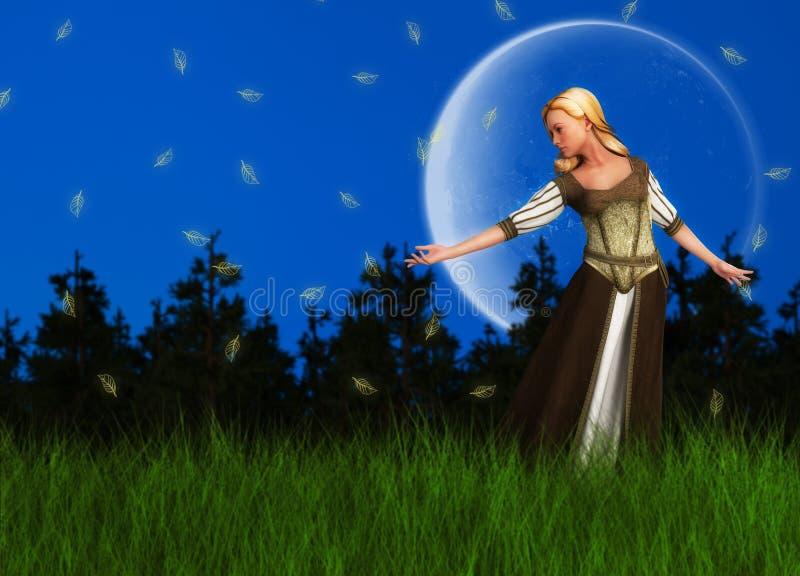 Download 童话不可思议的梦想公主Illustration 库存例证. 插画 包括有 夫人, 似梦幻般, 相当, 幻想 - 62538505