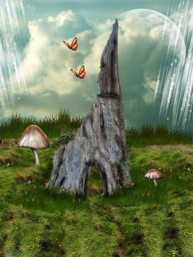 童话之家 免版税图库摄影