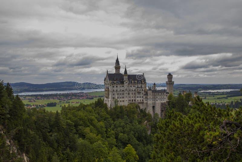 童话城堡 免版税库存照片