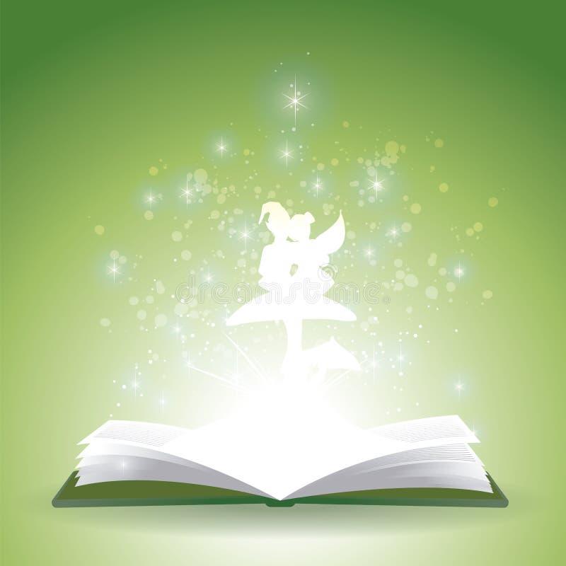 童话恋人书 向量例证
