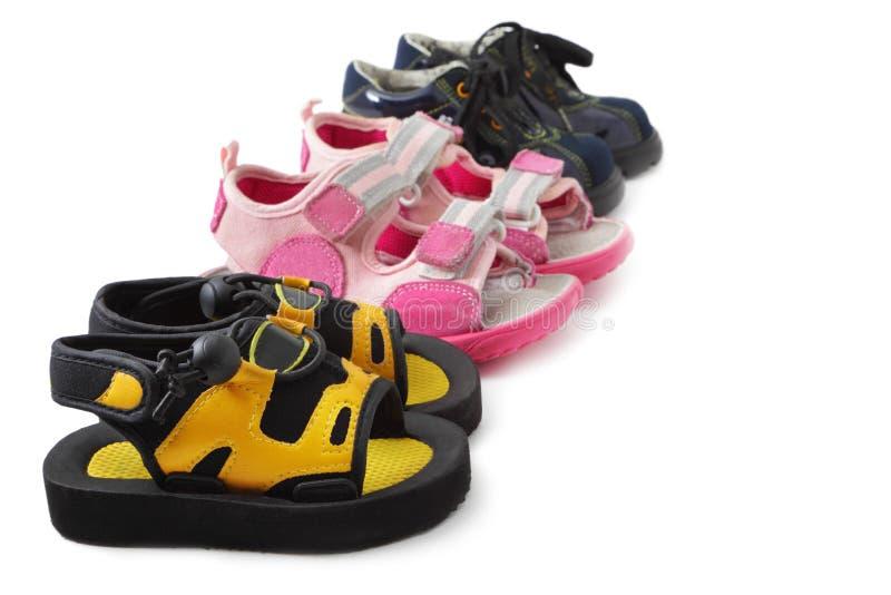 童鞋 库存照片
