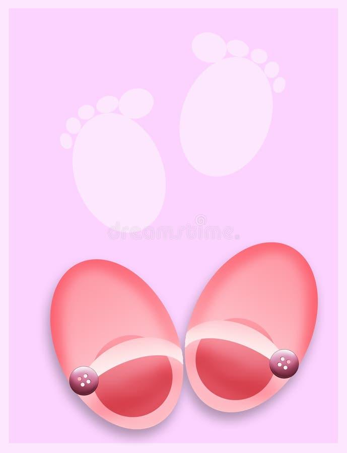 童鞋 向量例证