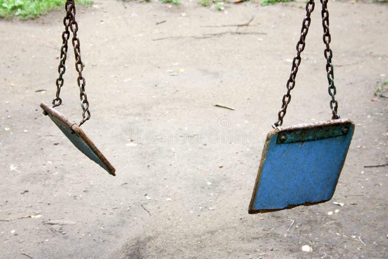 童年的结尾 打系列丈夫暴力妻子 免版税图库摄影
