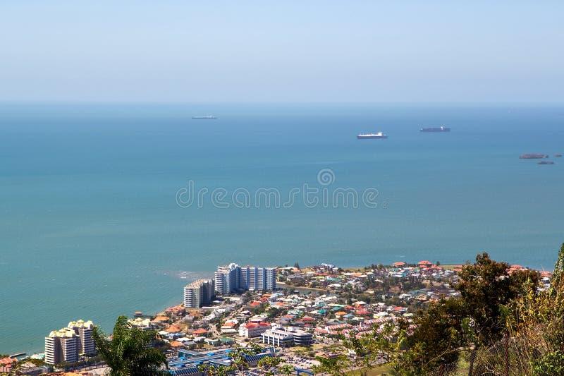 端口西班牙特立尼达 免版税库存照片