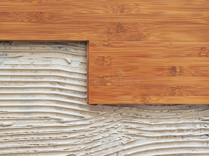 竹地板 库存图片