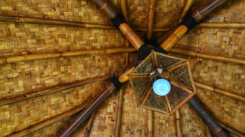 竹天花板 库存照片