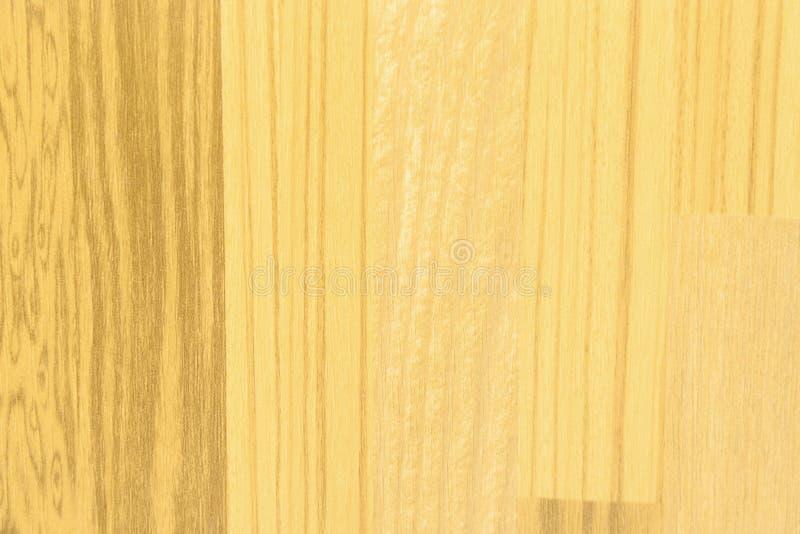 竹子层压制品的地板纹理 免版税库存照片