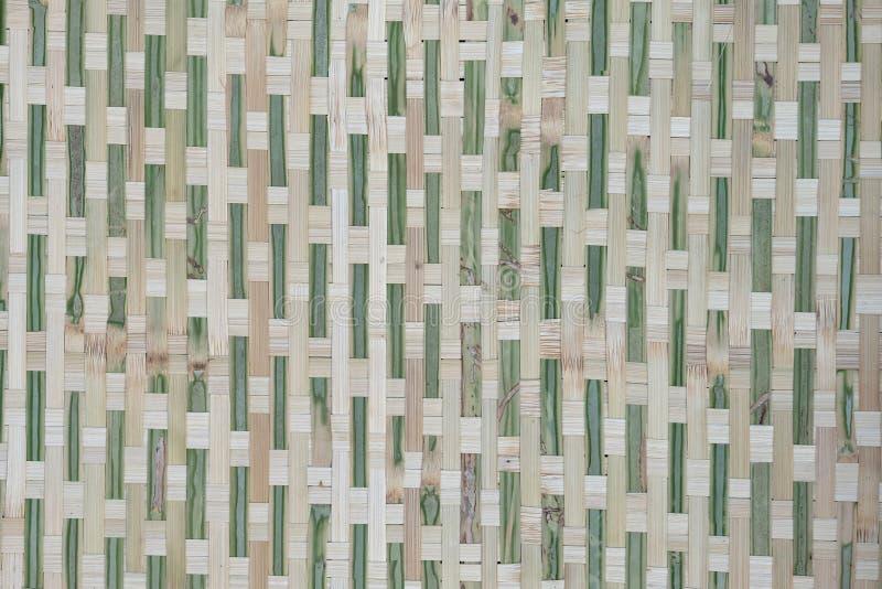 竹子或藤条篮子纹理Beuatiful背景  免版税图库摄影