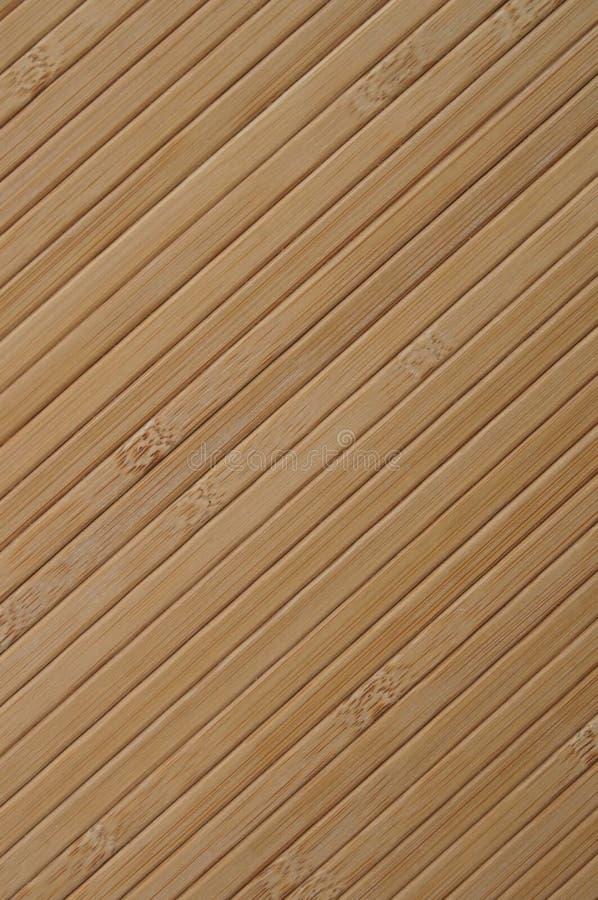 竹对角线 库存照片