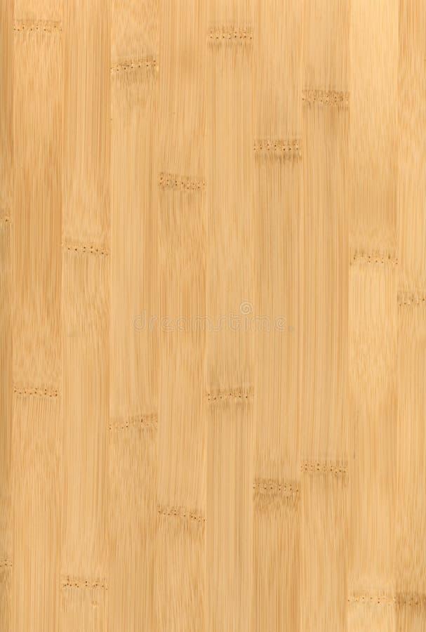 竹木条地板纹理 免版税库存照片