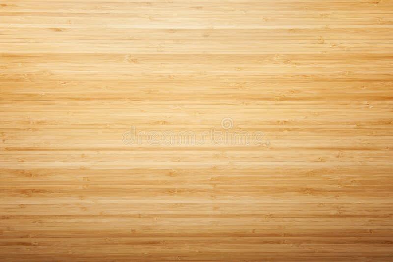 竹木纹理书桌 库存图片