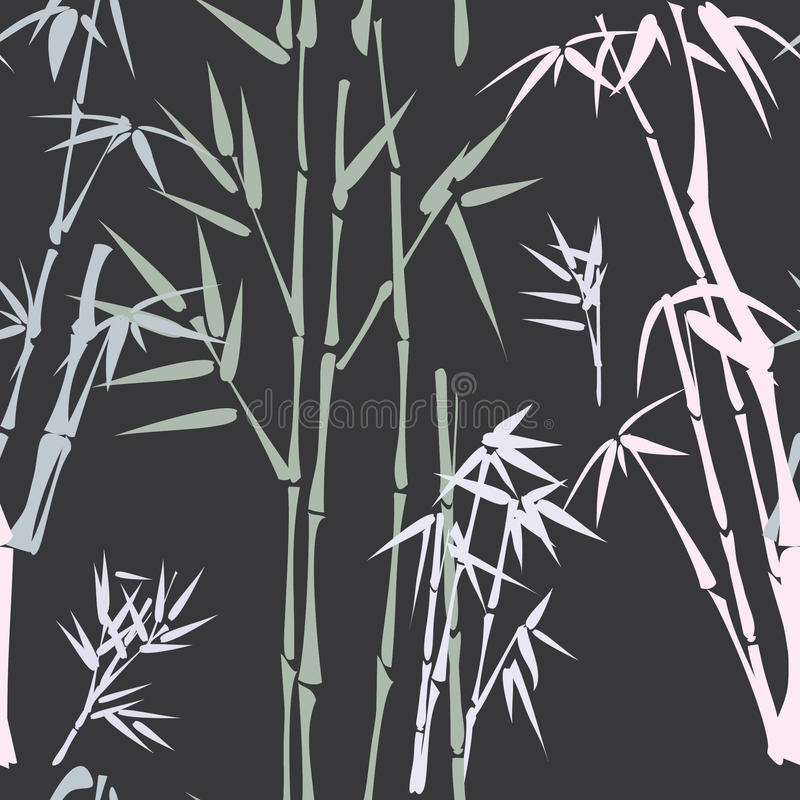 竹模式 皇族释放例证