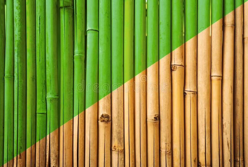 竹篱芭纹理,竹纹理背景,竹老化过程背景 免版税库存图片