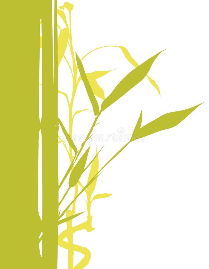 竹结构树 向量例证