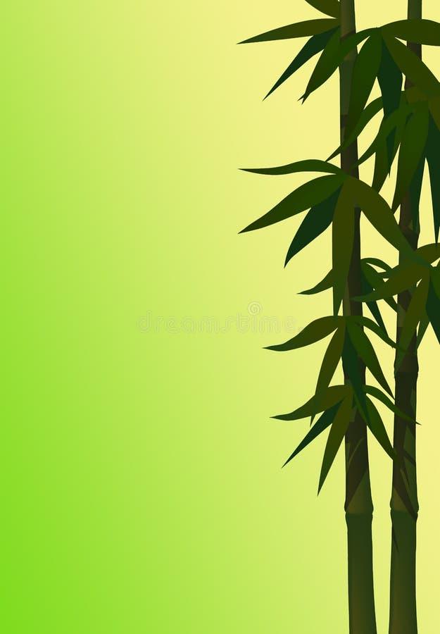 竹绿色软件 库存例证