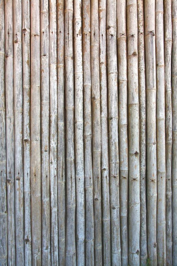 竹面板模式葡萄酒 免版税图库摄影