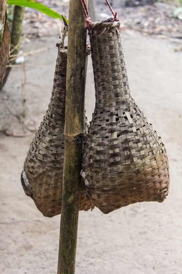 竹鳗鱼陷井酷寒北风泰国样式 免版税库存图片