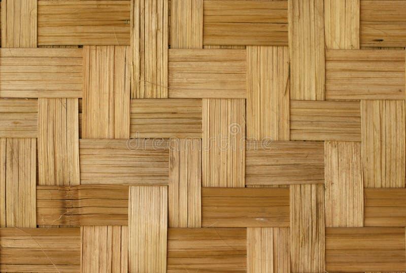竹织法样式 免版税图库摄影