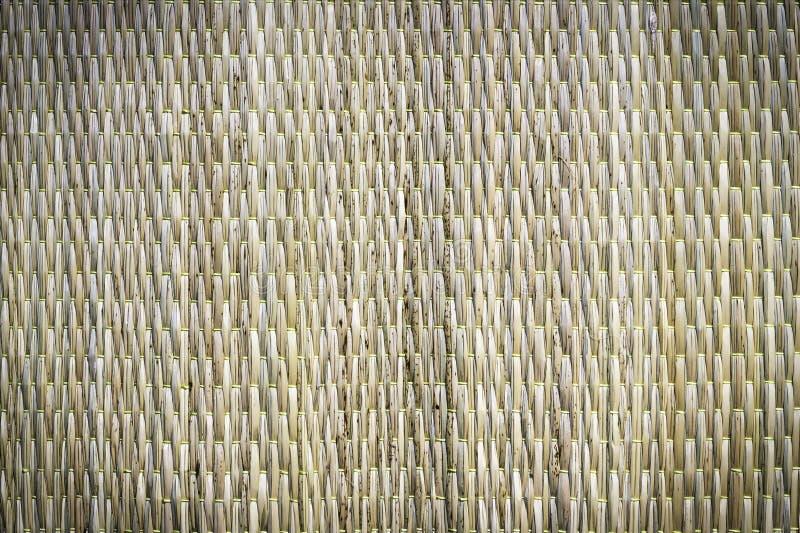 竹织法背景 库存照片